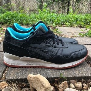 Asics Gelite 3 Miami Vice Black